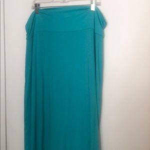 Blue Maxi Skirt xxl